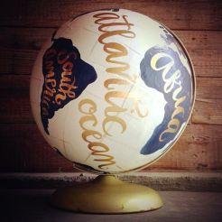Wereldbol reisquote