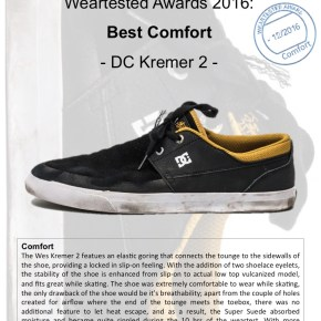 Weartested Awards 2016: Best Comfort
