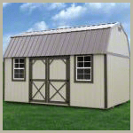 Weatherking Private Storage Painted Side Lofted Barn