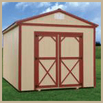 Weatherking Private Storage Painted Utility Extra Height