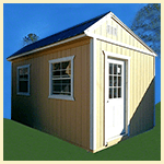 Weatherking Private Storage Side Entry Utility