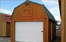 Weatherking Private Storage Treated Lofted Garage