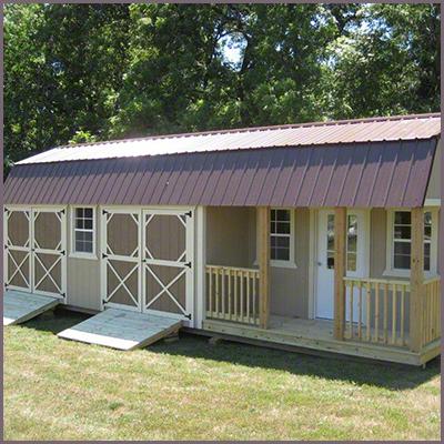 Custom Lofted Barn Cabin