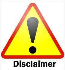 Disclosure & Privacy Statement