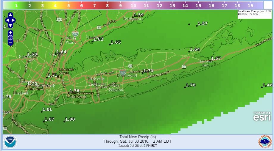 Flash Flood Watch Long Island