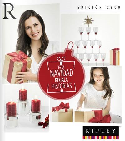 catalogo ripley diciembre 2013 decoracion navidad