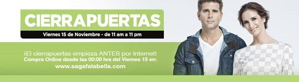 cierra puertas saga falabella viernes 15 noviembre 2013