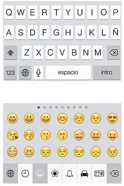 como usar emoticones en whatsapp de iphone teclado