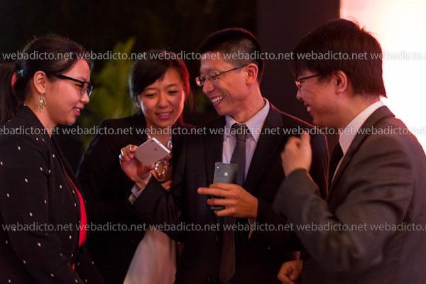 gerente general de Huawei del Perú, Sr. Yang Peng