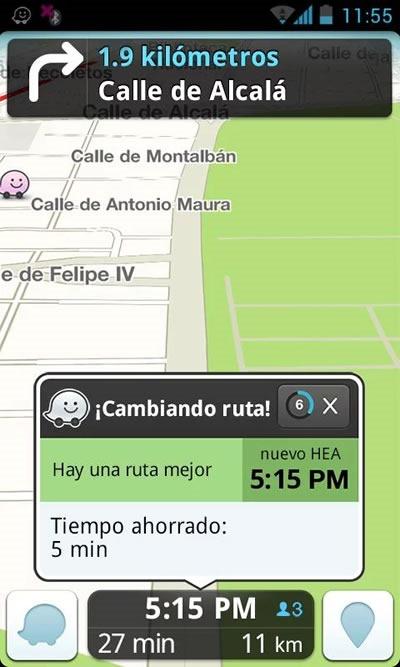 gps gratis mapas y trafico en tiempo real