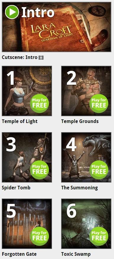 gratis-Lara-Croft-And-The-Guardian-of-Light-para-PC-y-Mac-niveles