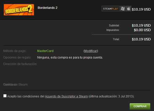 guia paso a paso para crear comprar videojuegos en steam confirmar compra