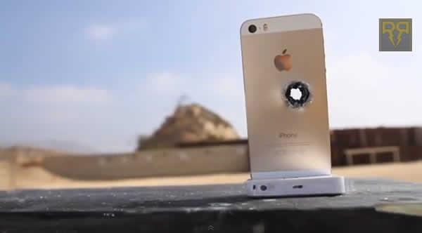 pruebas extremas de resistencia del iphone 5s