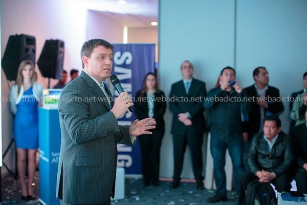 Teobaldo Palacios, Vicepresidente de Samsung