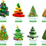 Animated Christmas Trees for Your Desktop