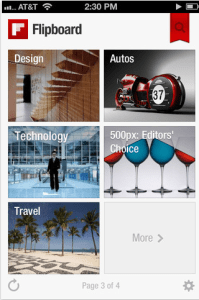 Flipboard iPhone app 199x3001 4 Best iPhone Apps for Managing Social Media Accounts