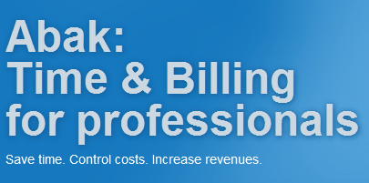 Abak time and billing software Make More Profit From Projects Using Abak Time and Billing Software