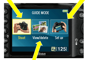 Nikon D3200 Guide mode Nikon D3200 vs D3100 : What Are The Improvements?