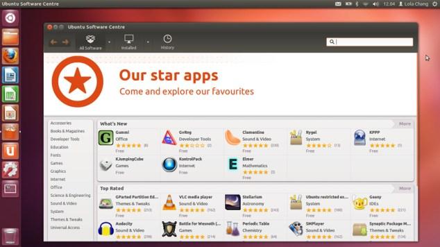 Ubuntu 12.04 Software Centre