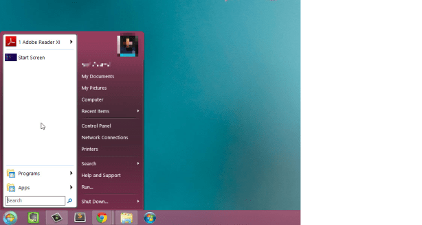 Windows 8 ViOrb 1024x546 How to Add Start Button to Windows 8?