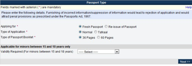 passport type How to Apply for Passport Online & Manage Passport Appointment?