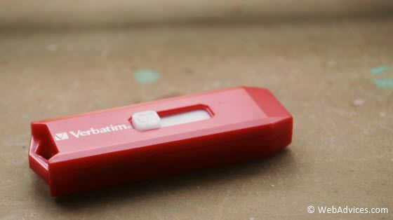 Verbatim USB flash drive