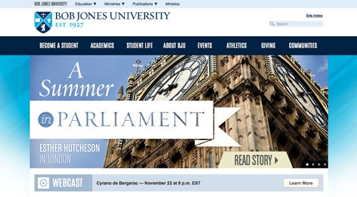 23. Bob Jones University