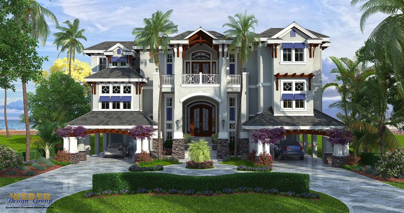 Grand Coastal Style House Story Outdoor Living 3 Story House Cost 3 Story Houseboat houzz-02 3 Story House