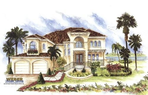 Medium Of Spanish Style House