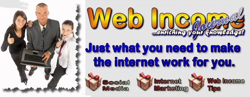 Web Income Journal Fan Page Cover Photo!