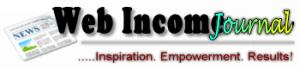 Web Income Journal Blog Header image