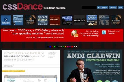 cssdance homepage
