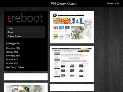 cssreboot homepage