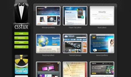 csstux homepage