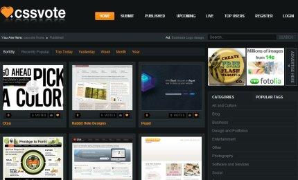 cssvote homepage