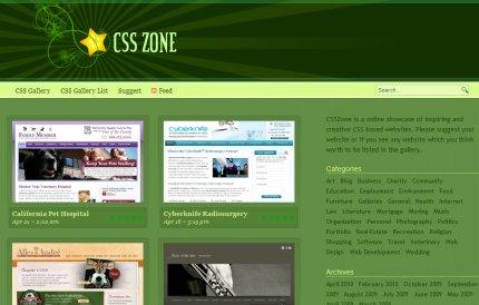 csszone homepage