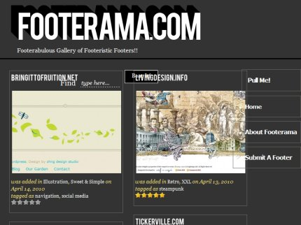 footerama homepage