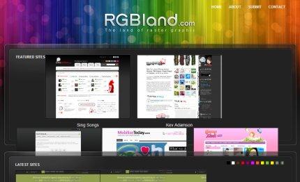 rgbland homepage