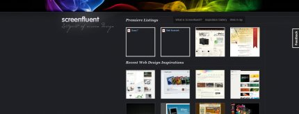 screenfluent homepage
