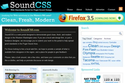 soundcss homepage