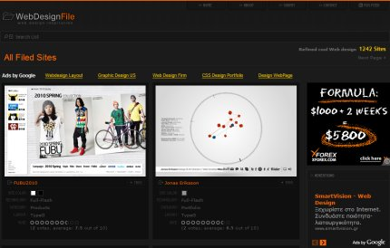 webdesignfile homepage