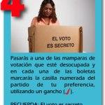 mamparas de votación