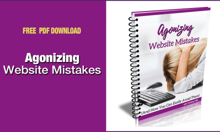 Agonizing Website Mistakes — Are you making them?