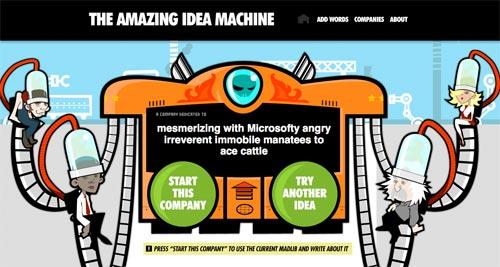 The amazing Idea Machine