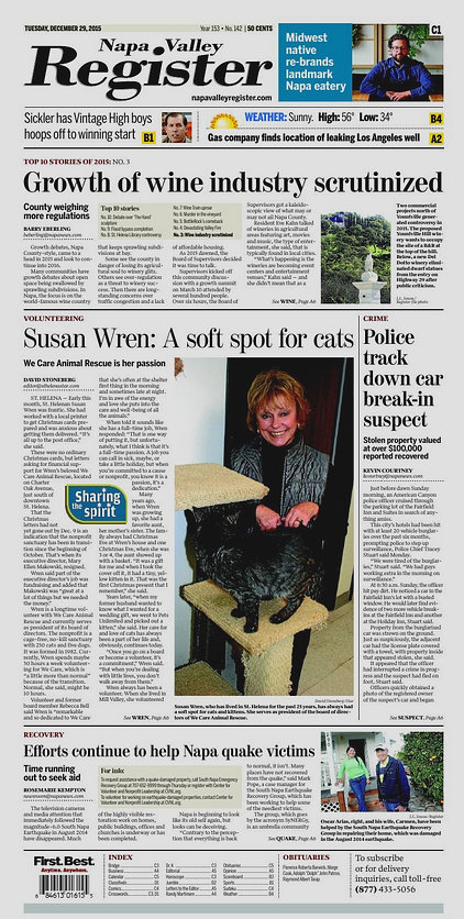 Susan Wren: Born with a soft spot for cats