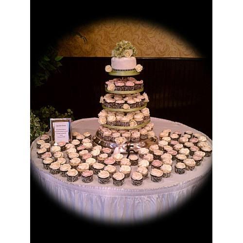 Medium Crop Of Cupcake Wedding Cake