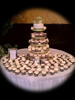 Small Of Cupcake Wedding Cake