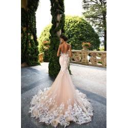 Small Crop Of Blush Wedding Dress
