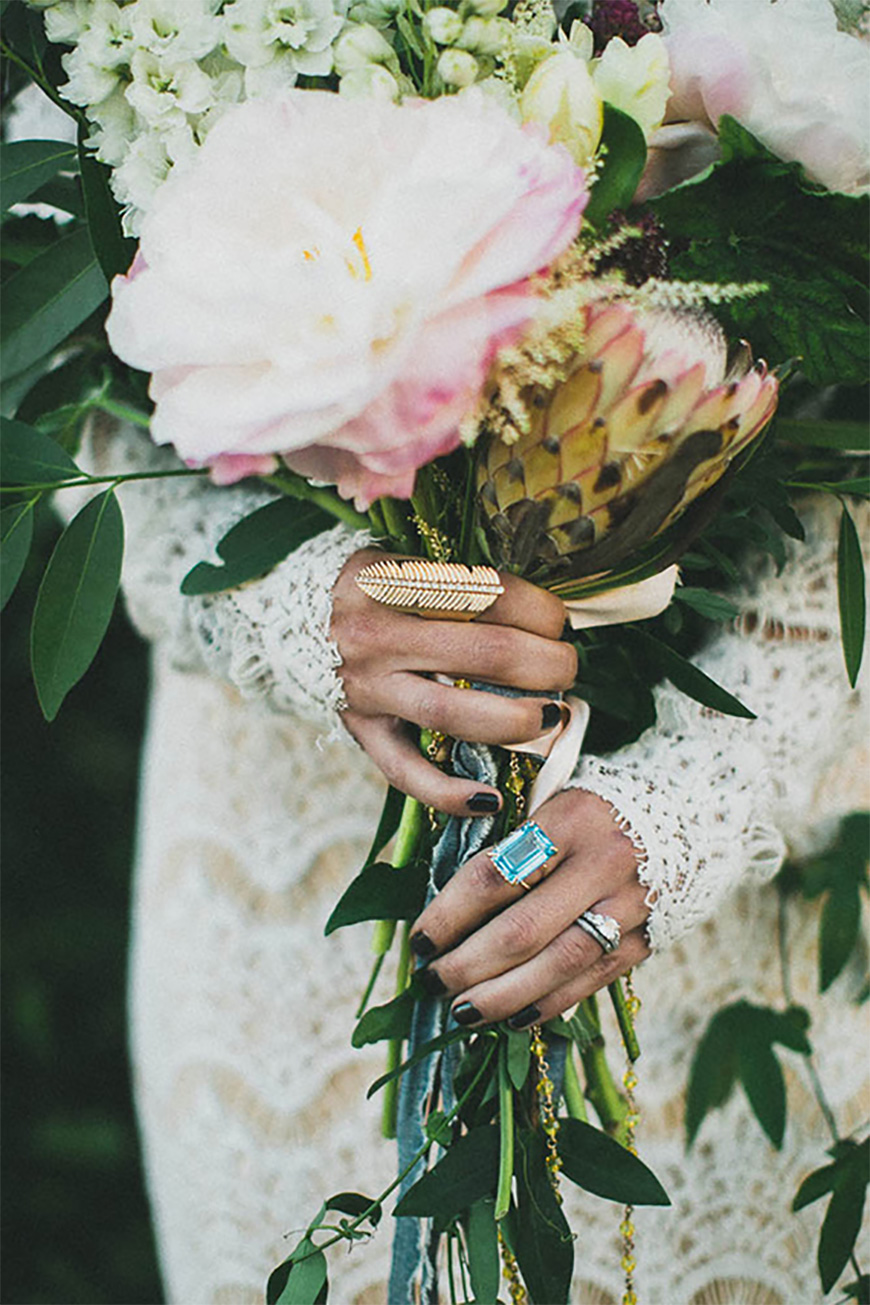 how to select your boho wedding ring bohemian wedding rings Selecting the perfect bohemian style wedding ring Gems CHWV