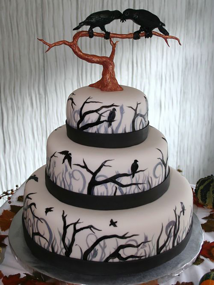 Irresistible Halloween Wedding Cakes Chwv Halloween Wedding Cakes Chwv Halloween Wedding Cakes S Halloween Wedding Cake Pers Uk wedding cake Halloween Wedding Cakes